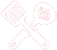 Preview icon food red